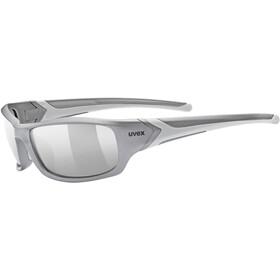 UVEX Sportstyle 211 Sportbril, grey mat/litemirror silver